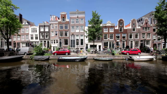 bloemgracht - canal stock videos & royalty-free footage