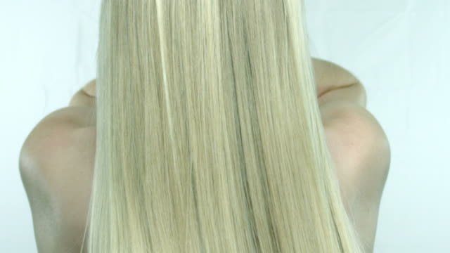 blond hair - long hair stock videos & royalty-free footage