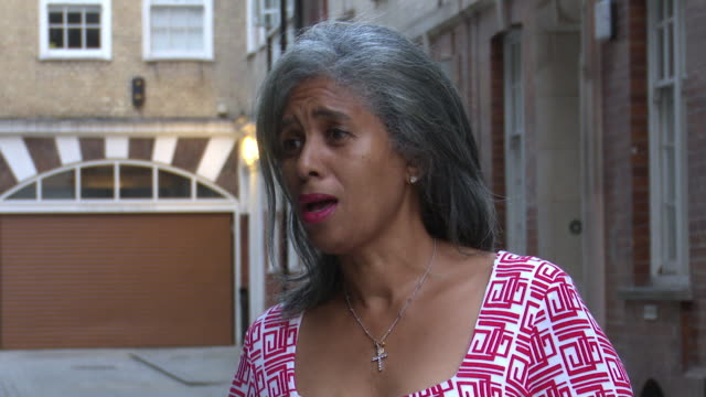 blondel cluff of the west india committee saying the government's apology for the windrush scandal is progress as it accepts liability - hmt empire windrush stock videos & royalty-free footage
