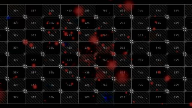 vídeos y material grabado en eventos de stock de cuenta de sangre. genoma. visualización de datos futurista de arn adn - fórmula química