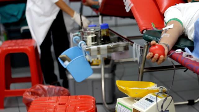 vidéos et rushes de don du sang - veine humaine