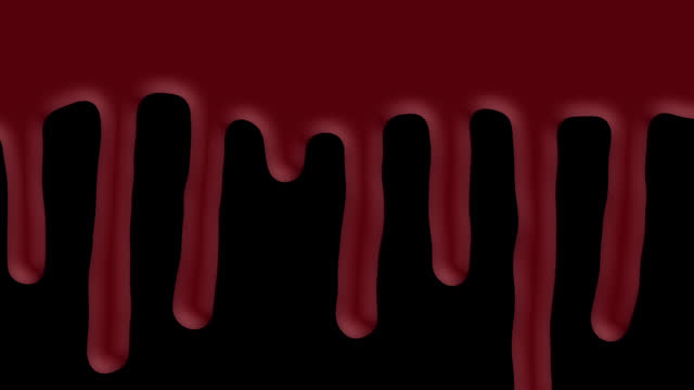 blood dripping down on alpha (transparent) channel , red ink drip, transition, liquid drop, abstract liquid blood transitions - drop stock videos & royalty-free footage