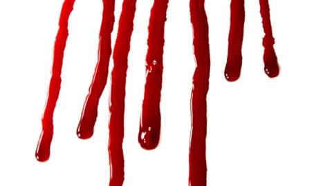 vídeos y material grabado en eventos de stock de sangre fluye en un primer plano - blood