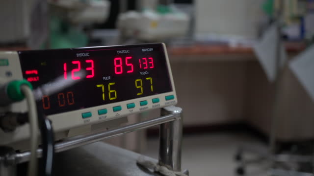 blood pressure monitor - pulse oxymeter stock videos and b-roll footage