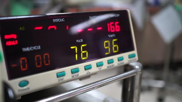 blood pressure - blood pressure gauge stock videos & royalty-free footage