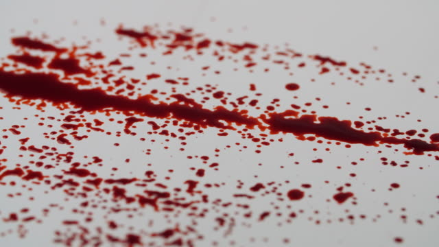 blood splatter - 40 seconds or greater stock videos & royalty-free footage