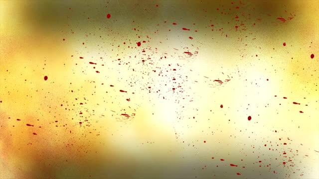 血液スプラター - 殺す点の映像素材/bロール
