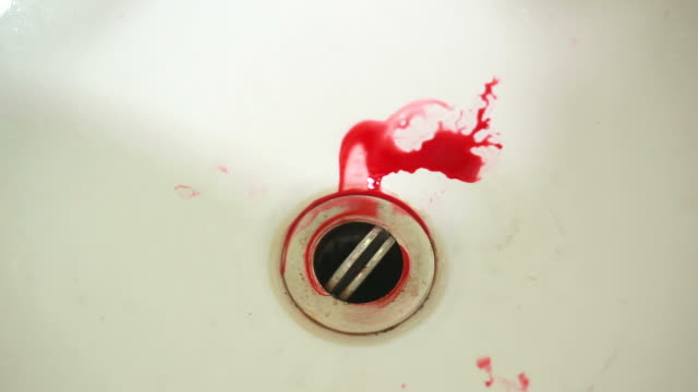Blood Washed Down the Drain