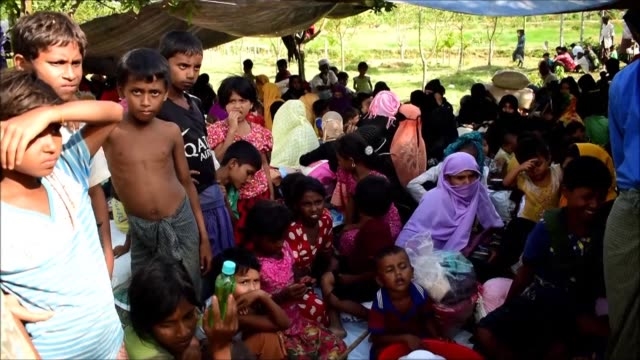 Bloodshed rages on and thousands of villagers are fleeing for their lives as fighting continues in Myanmar's Rakhine State where authorities say...