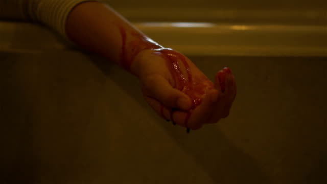 bloody hand. - wounded stock videos & royalty-free footage