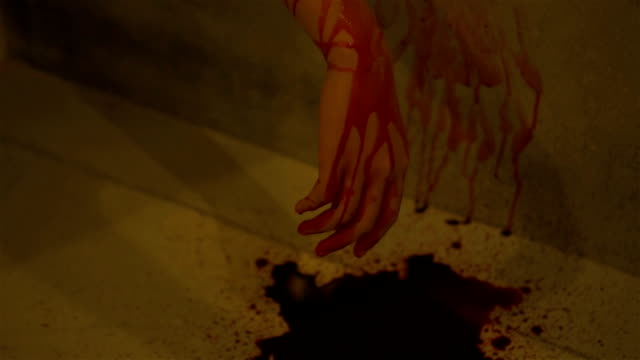bloody hand. - gory of dead people stock videos & royalty-free footage