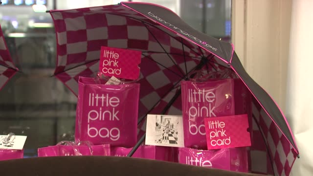 Bloomingdale's Little Pink Bag at the Bloomingdale's The Estee Lauder Companies Kick Off Breast Cancer Awareness Month at New York NY