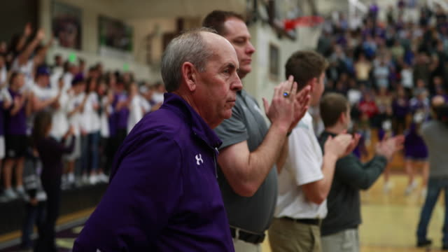Bloomington High School South basketball coach JR Holmes coaches against Northview High School during his recordbreaking 807th Indiana high school...