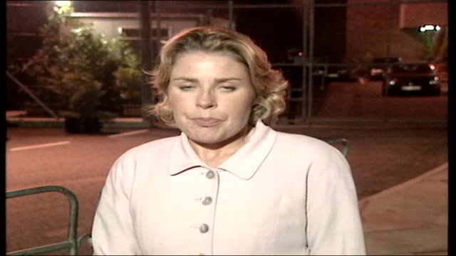 utv bloopers 1 night jane loughrey piece to camera as her chewing gum falls out - bubble gum stock videos & royalty-free footage