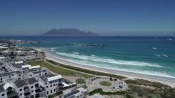 Blouberg Beach scene Cape Town