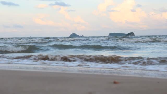 Ondes de choc à la plage