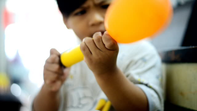 Blowing Balloons
