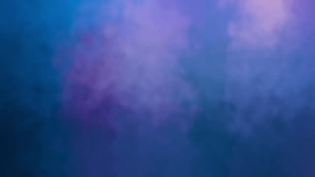 Blue abstract background like fog or smoke