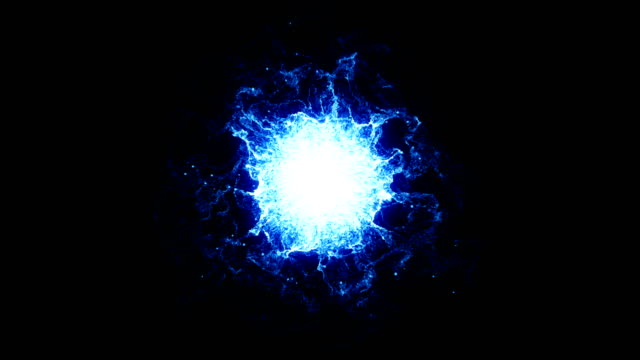 blue abstract digital energy - nucleus stock videos & royalty-free footage