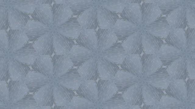 blaue und weiße Kaleidoskop