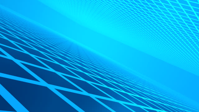 Blue Background wire frame ground - HD 1080 loop