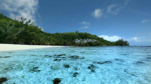 blue bay - seychelles stock videos & royalty-free footage