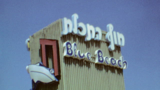 Blue Beach Resort / Swimming Forbidden Sign / Lakeside / Restaurant / Pita and Fried Fish / Sea of Galilee Trip on September 01 1974 in Tiberias...