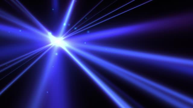 stockvideo's en b-roll-footage met blue blast, looping background - laser