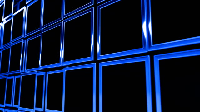 Blauen Kästen Animation