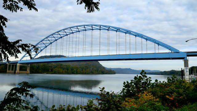 blue bridge hd - musical instrument bridge stock videos & royalty-free footage