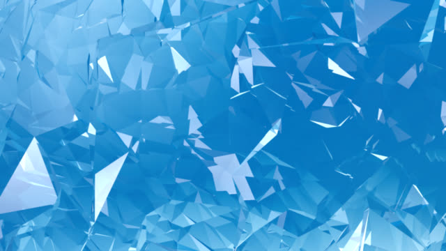 Blue Crystal Background animation HD
