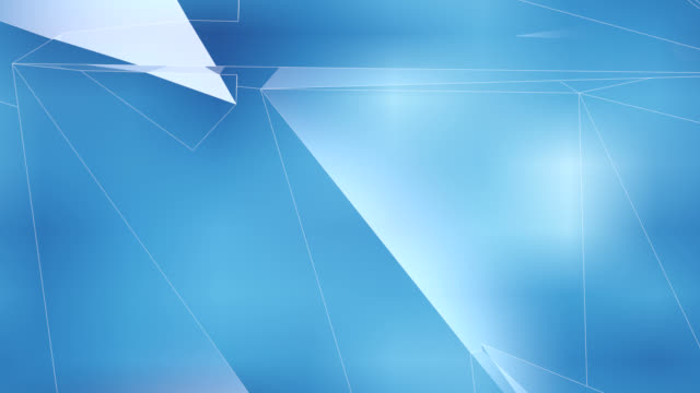 Blue Curves, Looping HD Background
