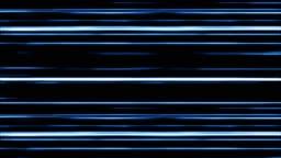 Blue Digital Light Lines Moving.