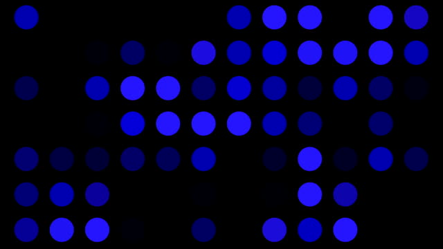 blue dots background loop - order stock videos & royalty-free footage