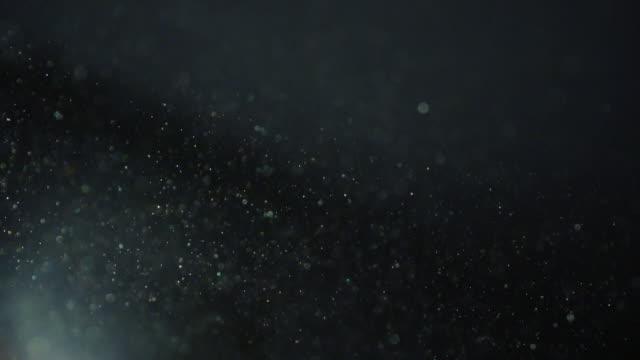 blue dust particles - staub stock-videos und b-roll-filmmaterial