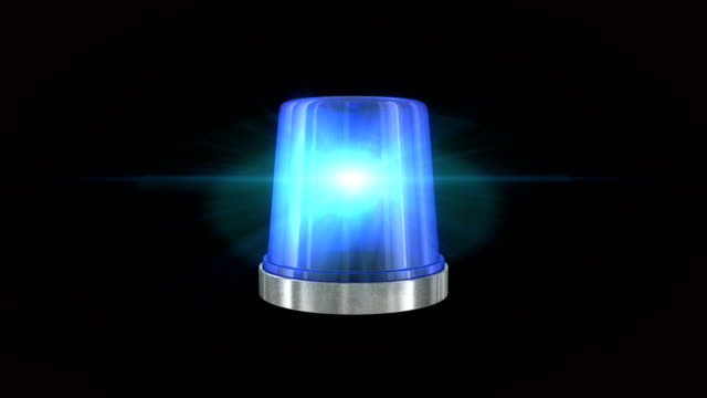 blue emergency flasher - police vehicle lighting stock videos & royalty-free footage