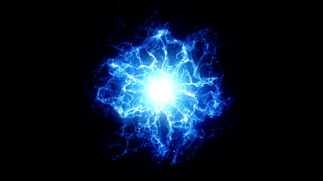 blue energy ball - electricity stock videos & royalty-free footage