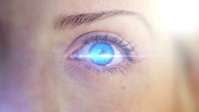 Blue Eye. HD
