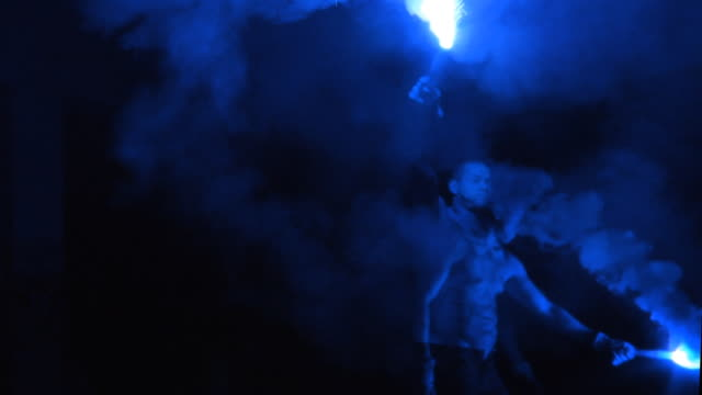 Blue Firework Boy