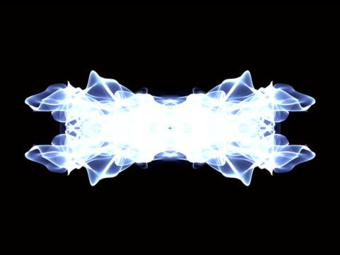 blau fließt leicht streifen ösen - kringel stock-videos und b-roll-filmmaterial