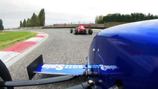 ld blue formula racing on the track - sports track stock videos & royalty-free footage