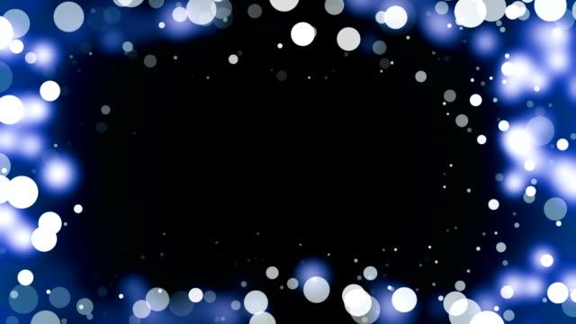 Blauw Frame achtergrond (loopbare)