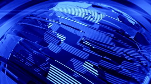 blue glossy globe - the media stock videos & royalty-free footage