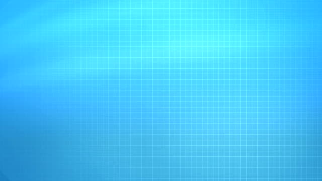 blue grid background (loopable) - computer graphic stock videos & royalty-free footage