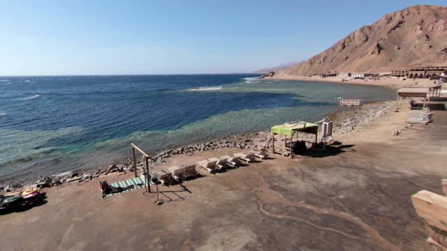 blue hole timelapse - dahab, egypt - hole stock videos and b-roll footage