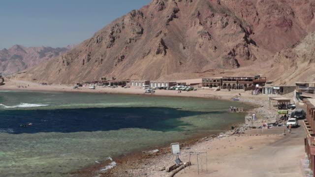 Blue Hole Timelapse Wide - Dahab, Egypt