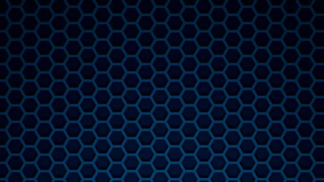 vídeos y material grabado en eventos de stock de nido de abeja azul - mosaico