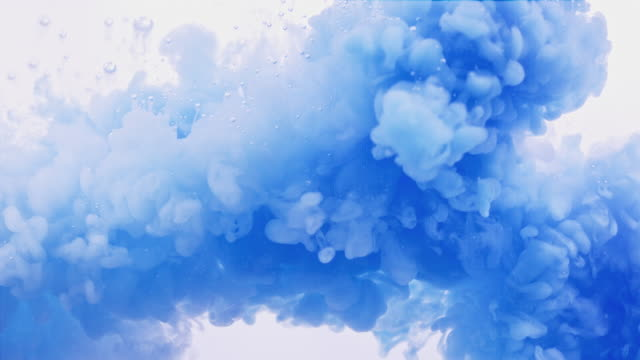 blue ink splash in super slow motion - poster template stock videos & royalty-free footage