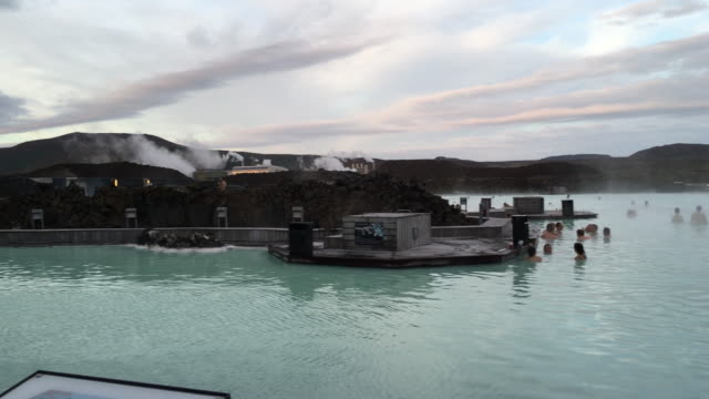 Blue Lagoon geothermal spa is one of the most visited attractions in Iceland is located in a lava field in Grindavík on the Reykjanes Peninsula...
