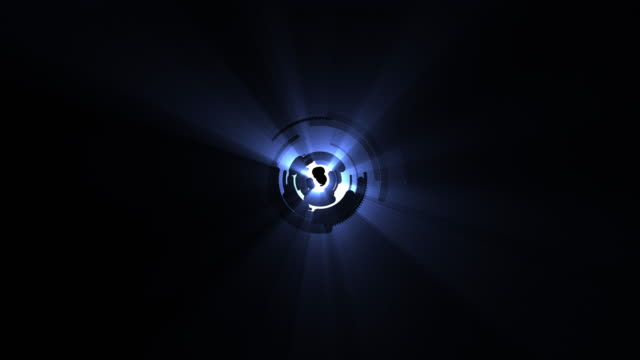 blue lens flare - 4k resolution - light natural phenomenon stock videos & royalty-free footage